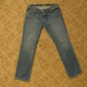 WOMEN'S SZ 12 STRAIGHT LEG STRETCH JEANS EUC